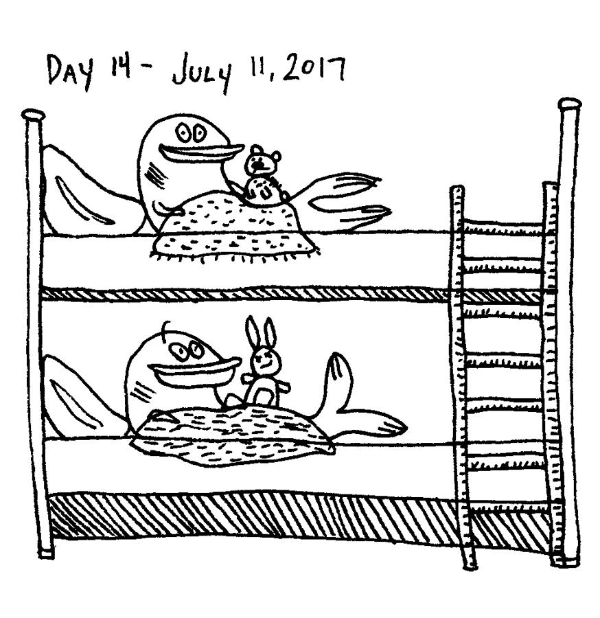 Day 14, Just draw stuff